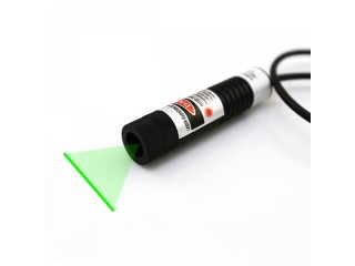 Adjustable Focus Berlinlasers 30mW 515nm Green Laser Line Generator