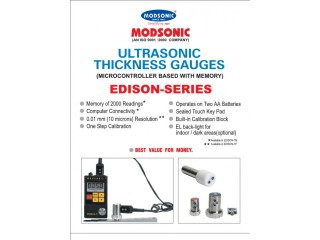 Modsonic Edison-1 Ultrasonic Thickness Gauges in BD