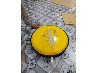 Bell Sign Board Round Sign Board & Stand Sign Board with Bell Sign Led Lighting Board