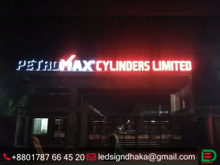 Led sign and neon sign