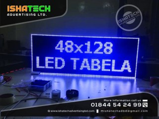 Screen panel Display for Indoor & Outdoor p10 Comedown LED Moving Display in Bangladesh.